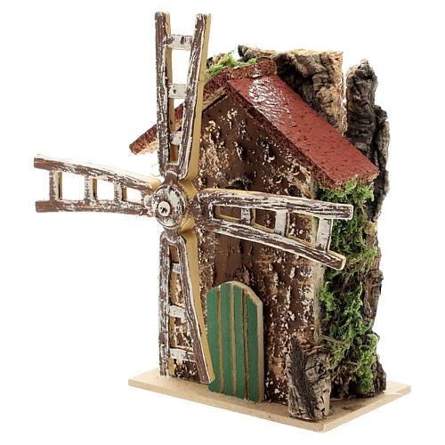 Functioning windmill figurine, 10x5x15 cm 2