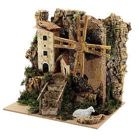 Windmill cottage 20x15x20 cm movement s2