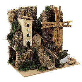 Windmill cottage 20x15x20 cm movement s3