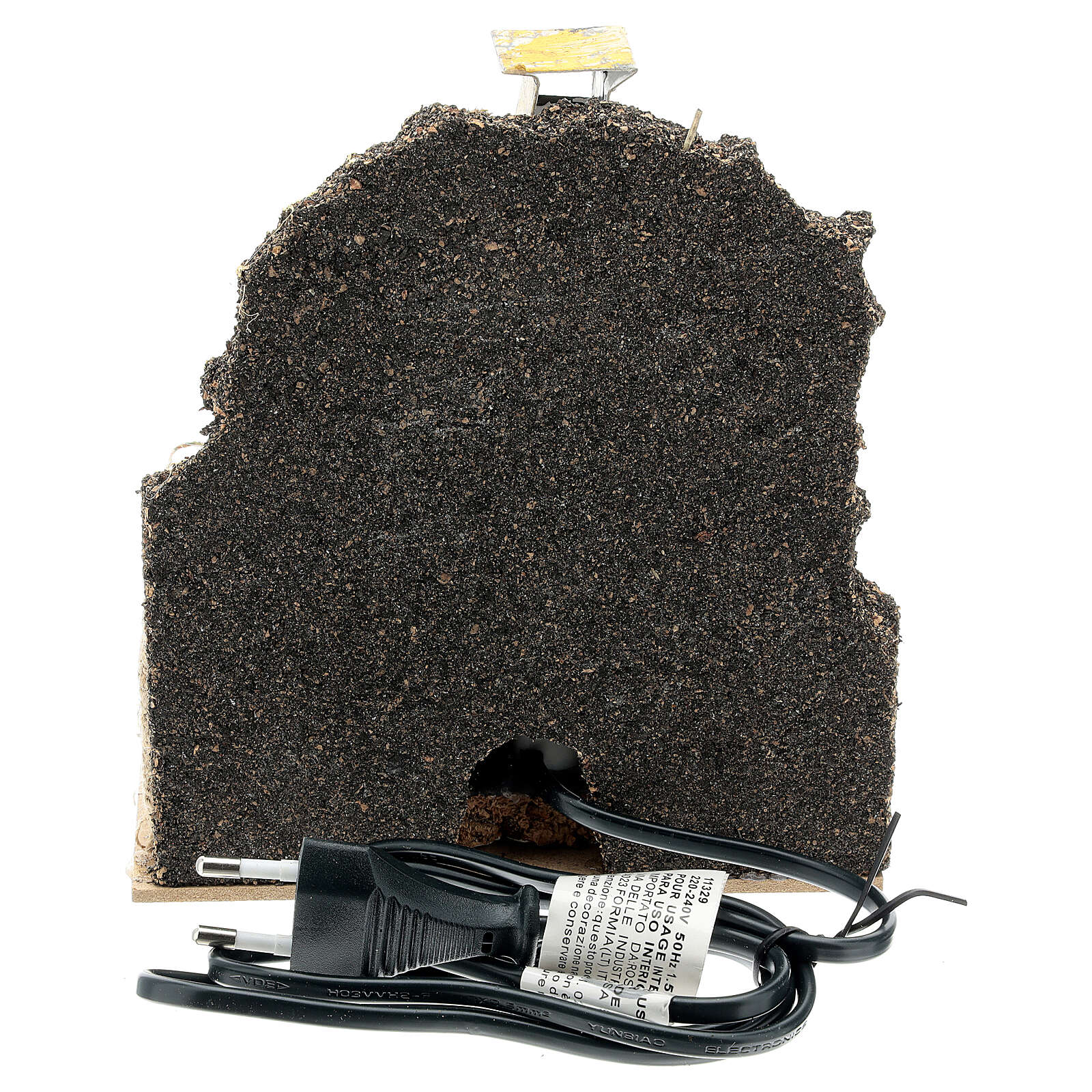Horno leña albañilería bombilla ef llama 15x15x10 belén 12-14 cm 4