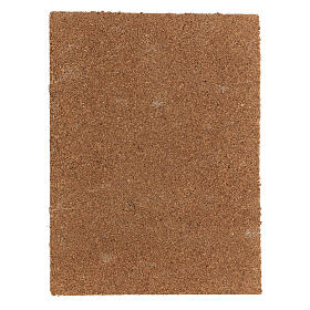 Panel corcho belén tipo corteza natural 33x25x1 cm s3