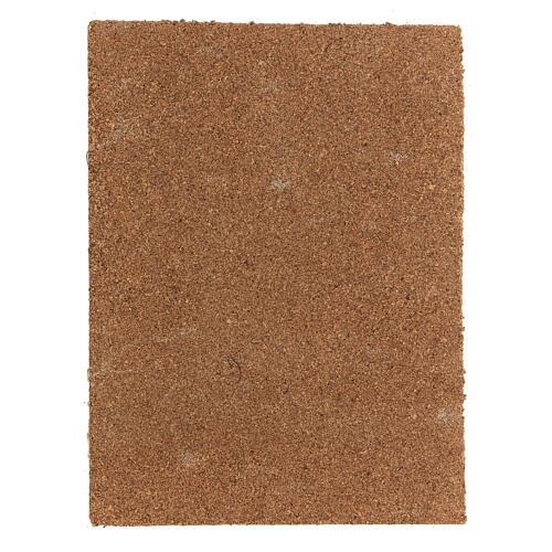Panel corcho belén tipo corteza natural 33x25x1 cm 3