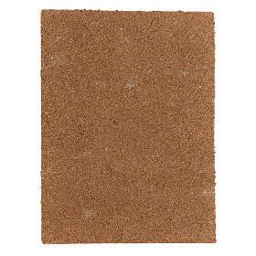 Panneau liège crèche type écorce naturelle 33x25x1 cm s3