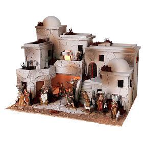 Moranduzzo Arabic style nativity scene complete statues 10 cm 40x50x40 cm s4
