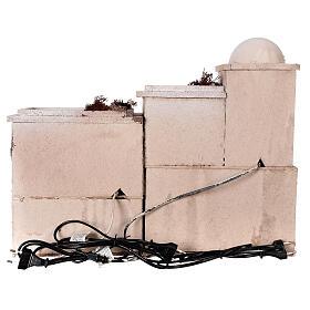 Crèche complète style arabe four santons Moranduzzo 10 cm 40x50x40 cm s8