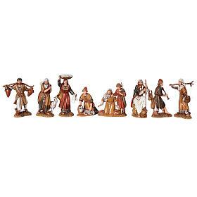 Presepe completo stile arabo forno statue Moranduzzo 10 cm 40x50x40 cm s3