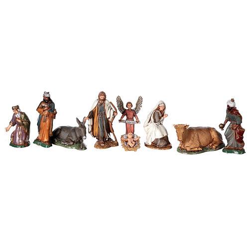 Moranduzzo Palestinian Nativity scene with well statues 10 cm 35x50x40 cm 3