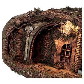 Neapolitan nativity scene horizontal barrel 12-15 cm s4