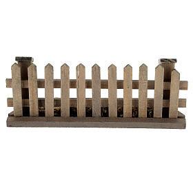 Staccionata presepe 8-12 cm legno 5x10x2 cm s4