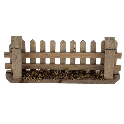 Staccionata presepe 8-12 cm legno 5x10x2 cm 1