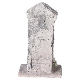 Capela Nossa Senhora em miniatura gesso para para presépio com figuras altura média 10-14 cm; medidas: 12x6x4 cm s4