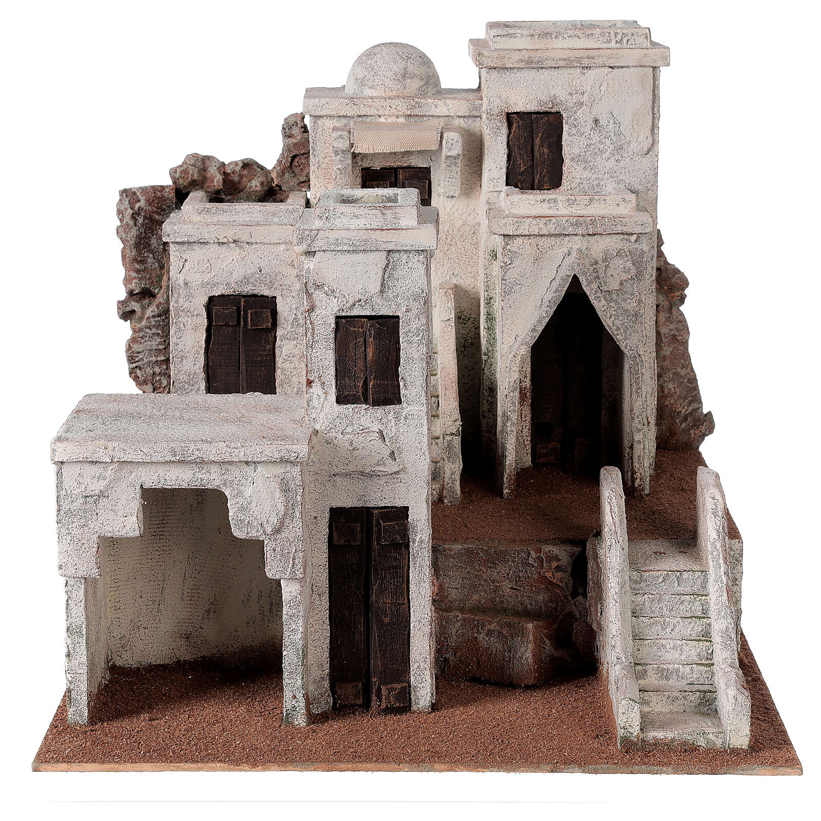 Village for Nativity scene Arabic setting suitable for figurines of 10 cm 4