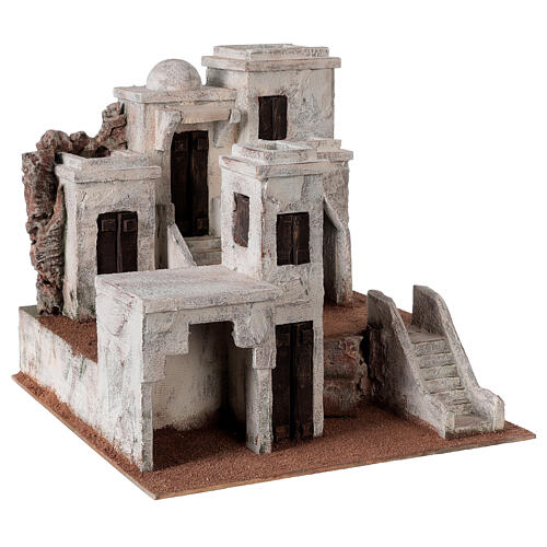 Village for Nativity scene Arabic setting suitable for figurines of 10 cm 3