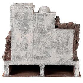 Borgo presepe ambientazione araba 34x36x40 cm per statue 10 cm s4