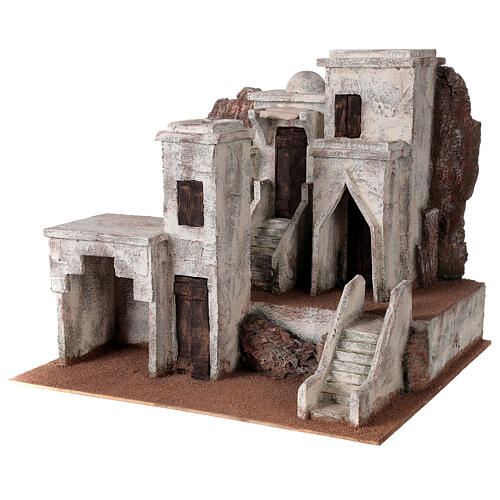 Village for Nativity scene with Arabic setting suitable for figurines of 12 cm 2