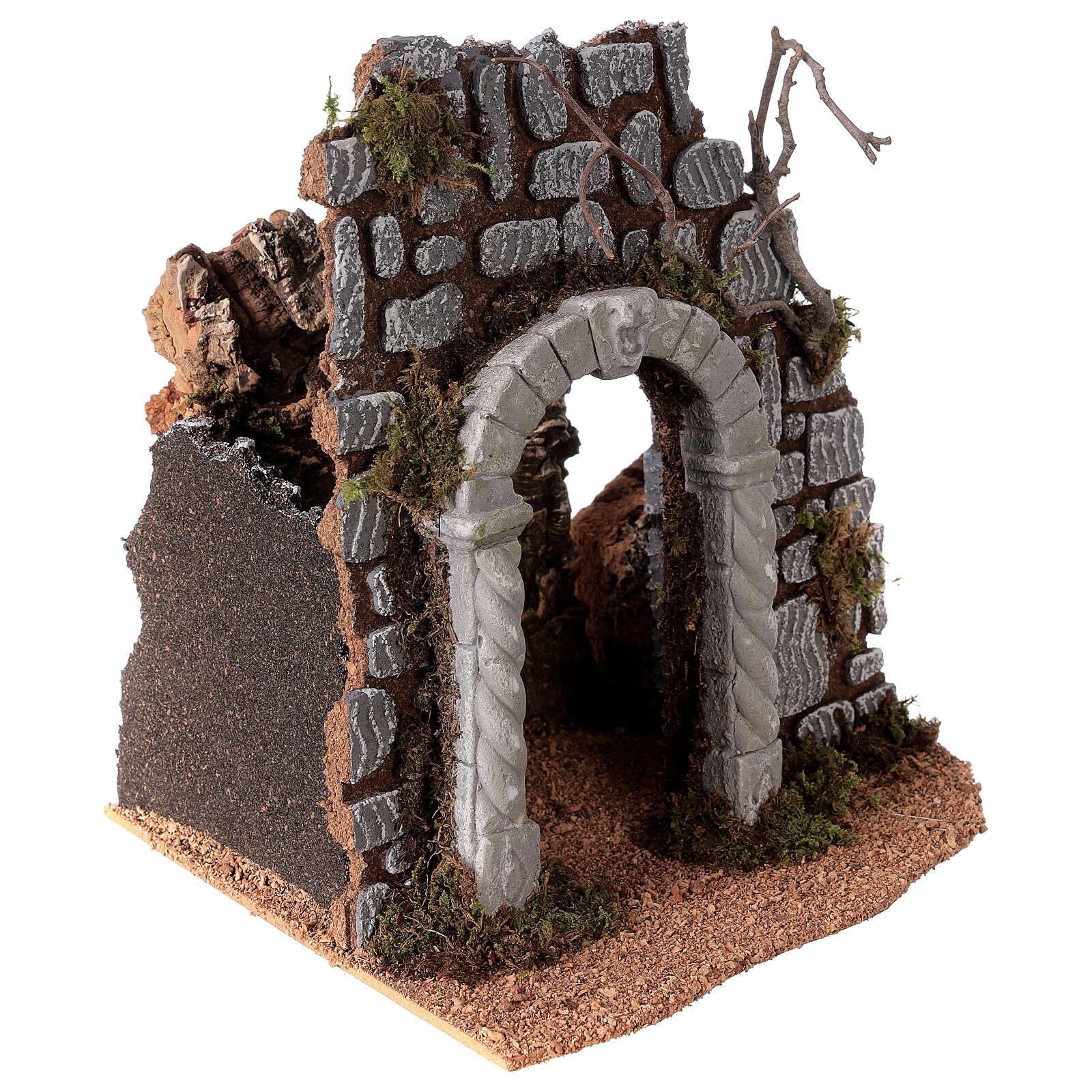Arch with well for Nativity scene 25x25x20 cm 4