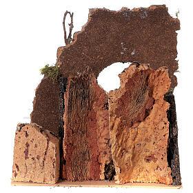 Arco con pozzo presepe 25x25x20 cm figure 8-10 cm s4