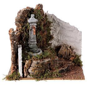 Fountain with bucket 20x20x15 cm for Nativity scene 8-10 cm s1