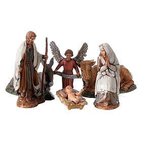 Borgo presepe completo arcata 40x50x40 statue 10 cm Moranduzzo s4