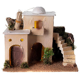 Minaret with stairs 20x25x15 cm for Nativity Scene with 6-8 cm figurines s1