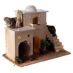 Minaret with stairs 20x25x15 cm for Nativity Scene with 6-8 cm figurines s4