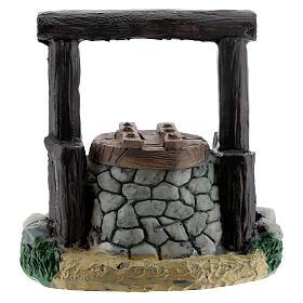 Resin waterhole 7 cm for Nativity Scene with 8-10 cm figurines s1