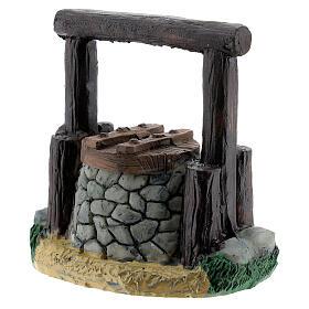 Resin waterhole 7 cm for Nativity Scene with 8-10 cm figurines s2