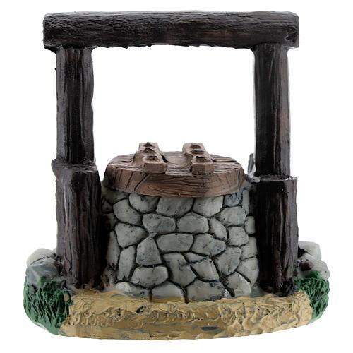 Resin waterhole 7 cm for Nativity Scene with 8-10 cm figurines 1