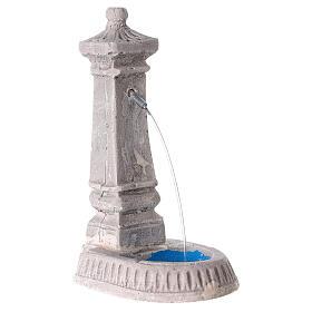 Fake plaster fountain 6x10x10 s3