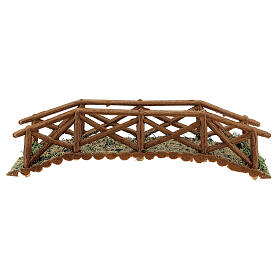 Brücke aus Holt für Krippe, 5x25x5 cm s4