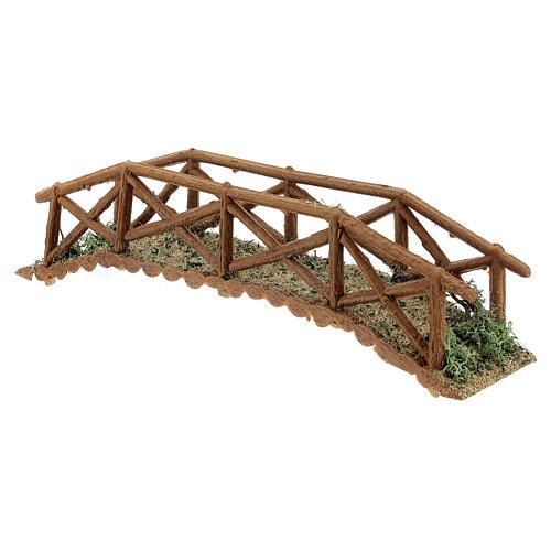 Brücke aus Holt für Krippe, 5x25x5 cm 3