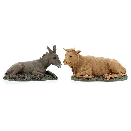 Pueblo belén árabe completo estatuas Moranduzzo 10 cm fuente 40x70x50 cm 9