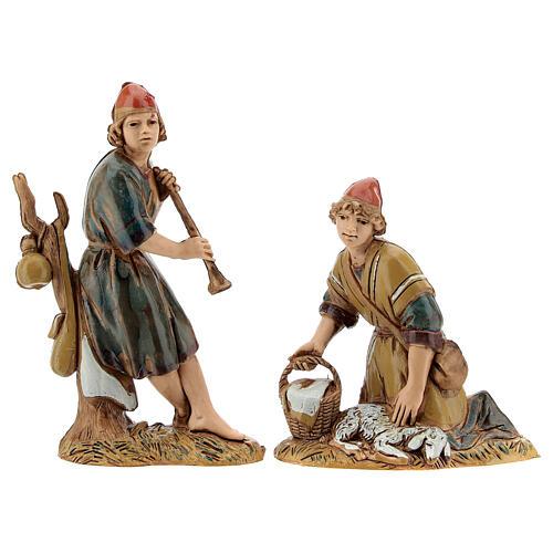 Pueblo belén árabe completo estatuas Moranduzzo 10 cm fuente 40x70x50 cm 12