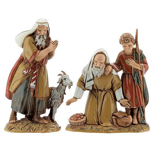 Pueblo belén árabe completo estatuas Moranduzzo 10 cm fuente 40x70x50 cm 14