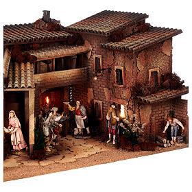 Krippendorf vollständig mit Figuren Moranduzzo, 35x100x45 cm s7