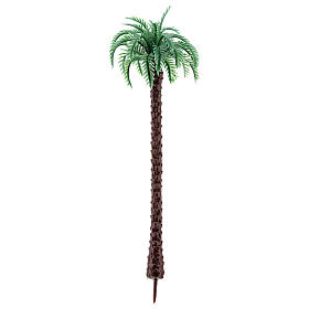 Palm tree in plastic Moranduzzo for 6-12 cm Nativity scene s1