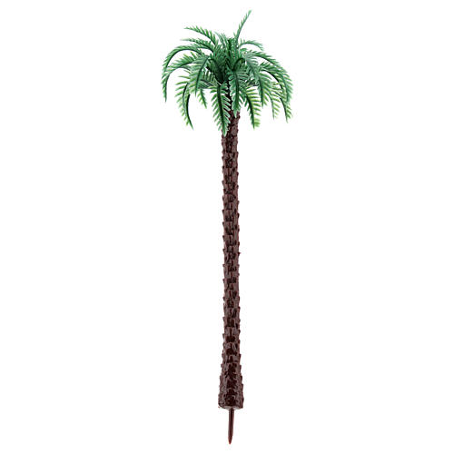 Palm tree in plastic Moranduzzo for 6-12 cm Nativity scene 2