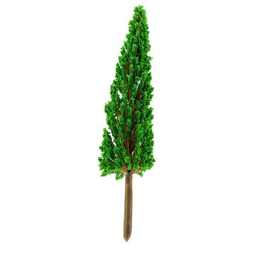Cypress tree in plastic Moranduzzo for 6-10 cm Nativity scene 2