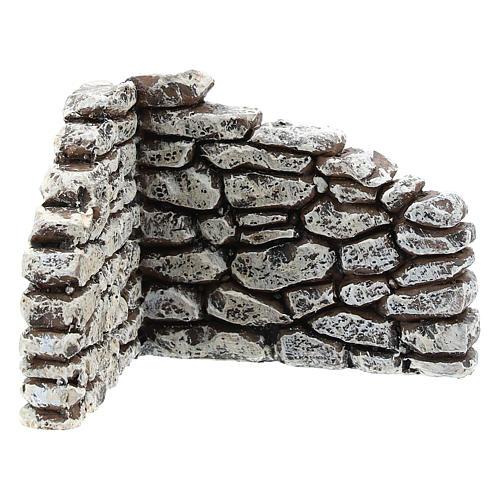 Muretto angolare Moranduzzo per presepe 4 cm 1