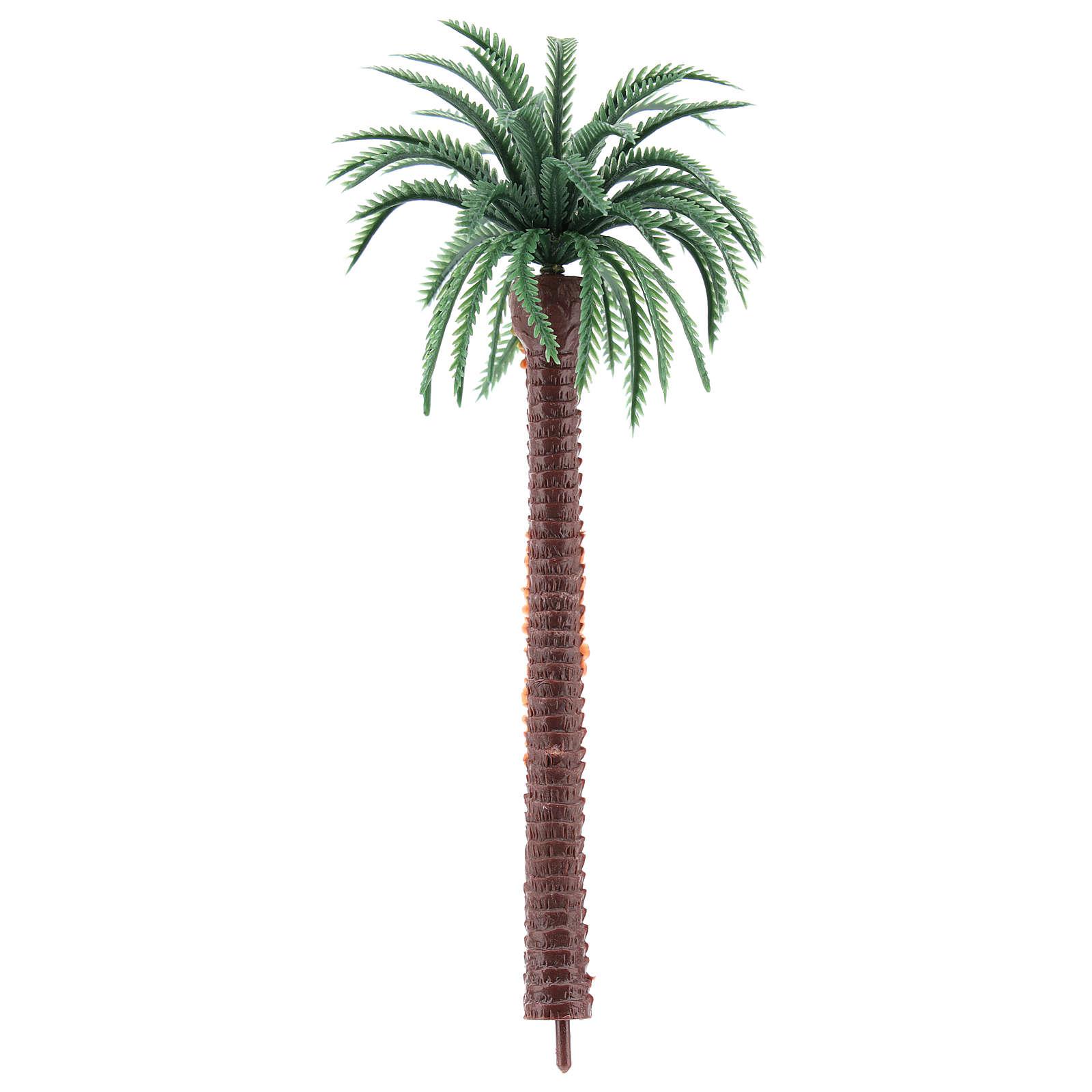 Nativity scene setting, palm tree Moranduzzo in plastic for 4-8 cm statues 4