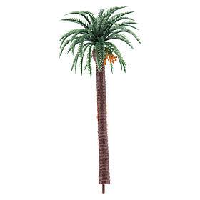 Nativity scene setting, palm tree Moranduzzo in plastic for 4-8 cm statues s1