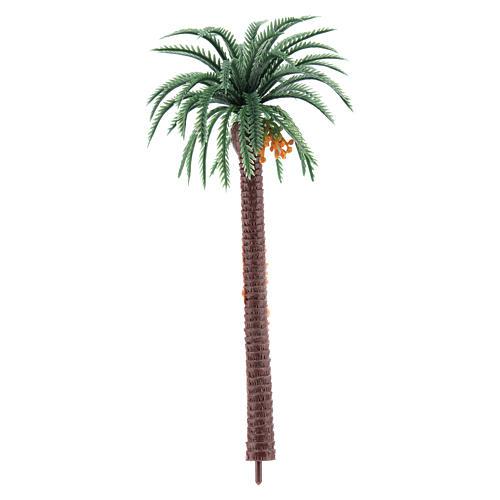 Nativity scene setting, palm tree Moranduzzo in plastic for 4-8 cm statues 1
