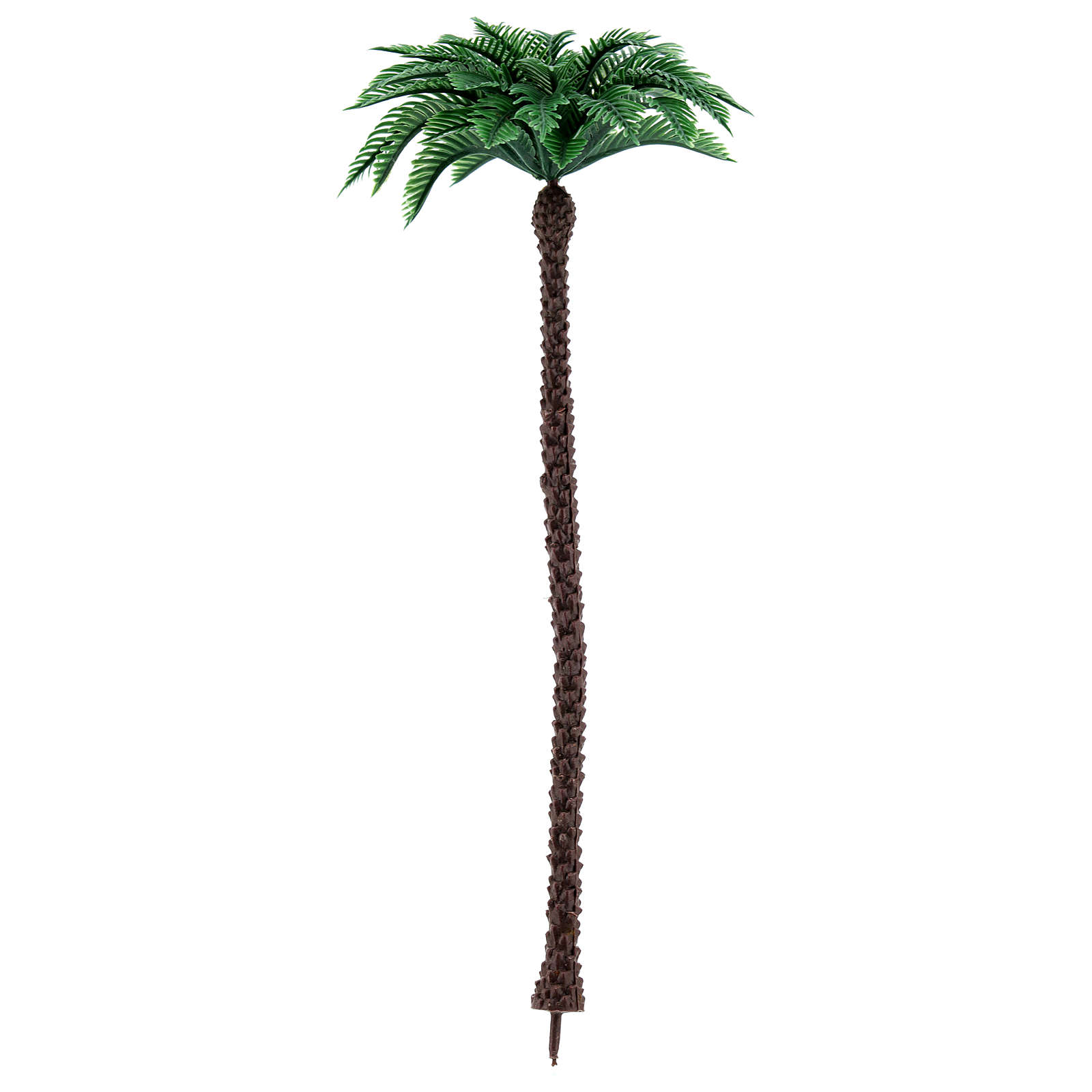 Nativity scene setting, palm tree Moranduzzo in plastic for 10-14 cm statues 4