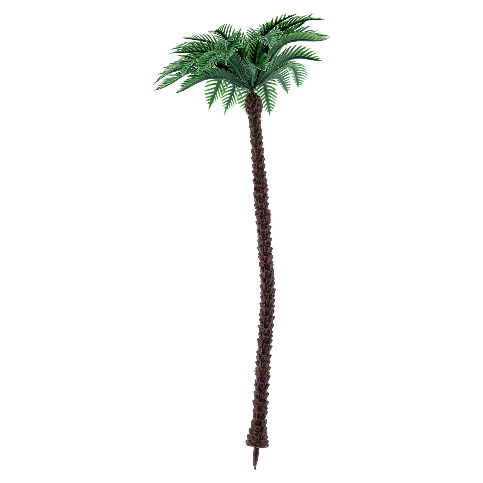 Nativity scene setting, palm tree Moranduzzo in plastic for 10-14 cm statues 4