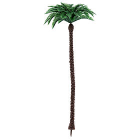 Nativity scene setting, palm tree Moranduzzo in plastic for 10-14 cm statues s1