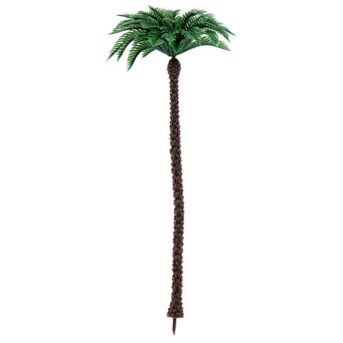 Nativity scene setting, palm tree Moranduzzo in plastic for 10-14 cm statues 1