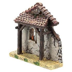 Façade pour maison crèche 4-6 cm Moranduzzo résine s2