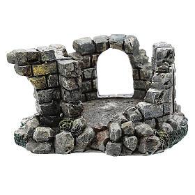Cour ruine résine Moranduzzo crèche 4-6 cm s1
