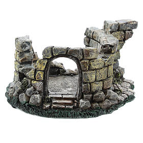 Cour ruine résine Moranduzzo crèche 4-6 cm s4