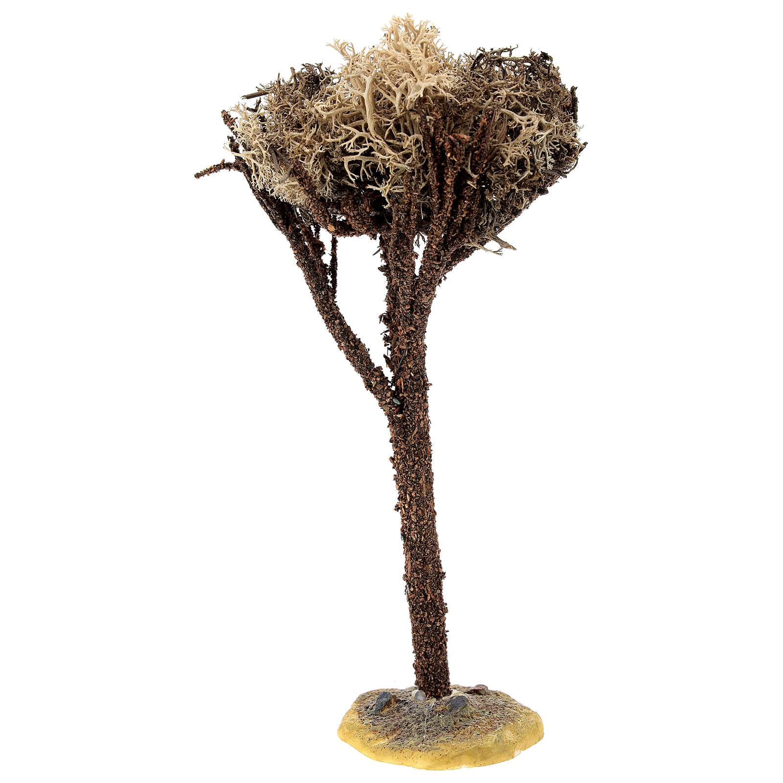 Árbol con base para belén de 8-10 cm 4